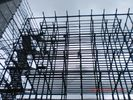 Q345B-Big Span Prefabricated  H Type Metal Frame Structure For Gymnasium Project