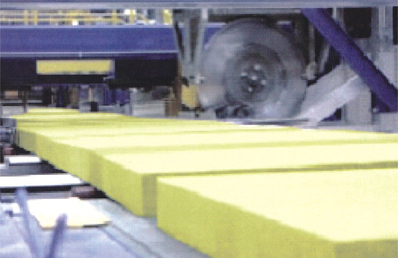 Fireproofing Rock Wool Insulation Block  From Molten Basalt Rocks
