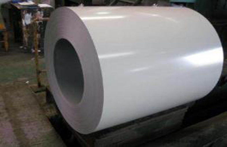 White Prepainted Galvalume Steel Coil For Refrigerated Wagon