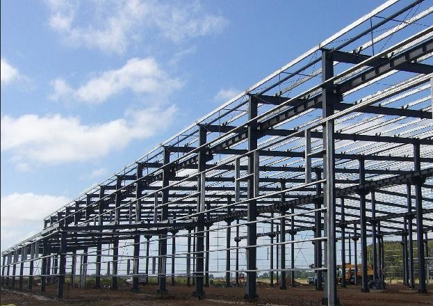Light Steel Poultry Farm Structure For Green Agriculture Industry