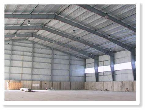 Q235B Warehouse Steel Structure